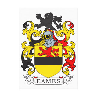 Eames Coat of Arms Canvas Print