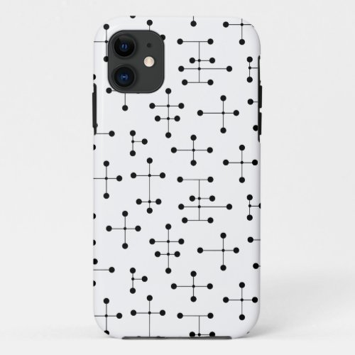 Eames-Era Black Dots Phone Case