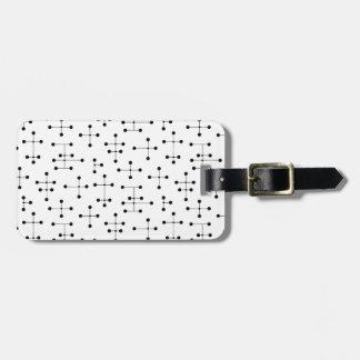 Eames Era Dots (Black Dots) Bag Tag