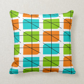 Eames Inspired Pillow Design Mid Century