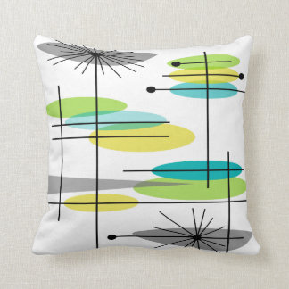 Eames Inspired Pillow Design Mid Century #8