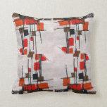Eames Inspired Pillow Design Mid Century Atomic II