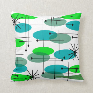 Eames Inspired Pillow Design Mid Century Four