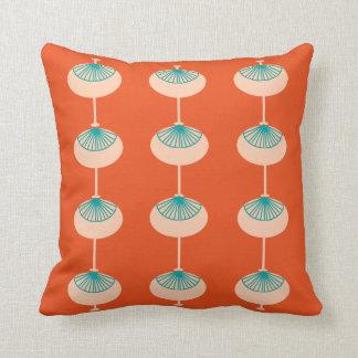Eames inspiró el naranja de los mediados de siglo cojín decorativo