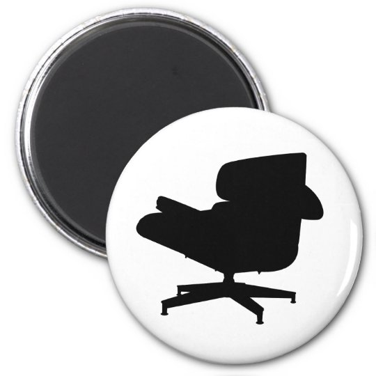 Eames Lounge Chair Magnet