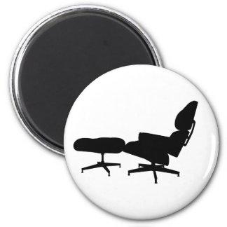 Eames Lounge Chair & Ottoman Magnet