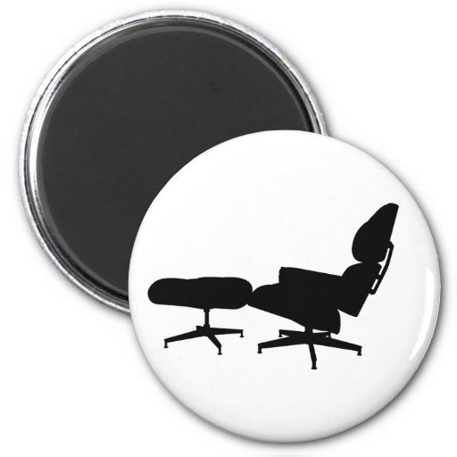 Eames Lounge Chair & Ottoman Magnet