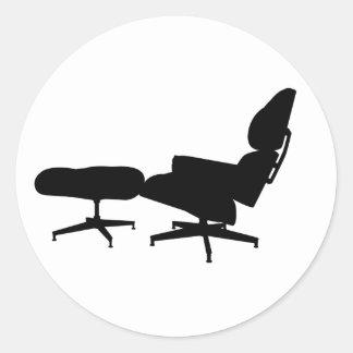 Eames Lounge Chair & Ottoman Sticker