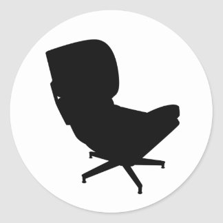 Eames Lounge Chair Sticker