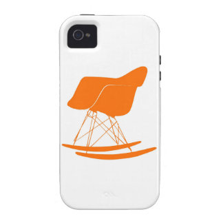 Eames molded plastic rocking chair vibe iPhone 4 case