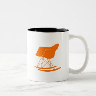 Eames molded plastic rocking chair Two-Tone coffee mug
