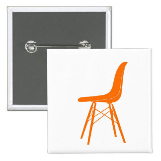 Eames molded plastic side chair pinback buttons