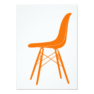 Eames molded plastic side chair card