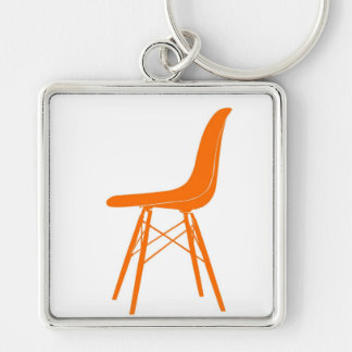 Eames molded plastic side chair keychain