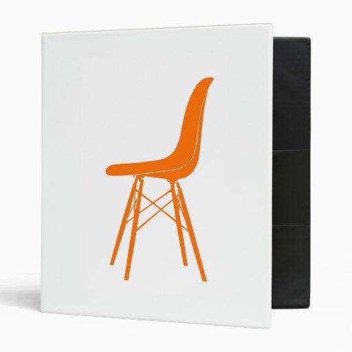 Eames molded plastic side chair vinyl binder