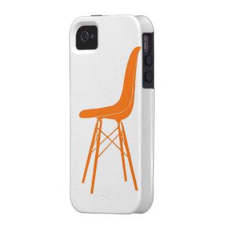 Eames moldeó la silla lateral plástica Case-Mate iPhone 4 funda