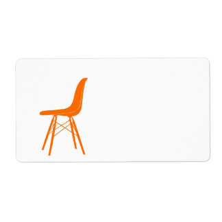 Eames moldeó la silla lateral plástica etiquetas de envío