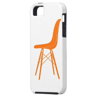Eames moldeó la silla lateral plástica iPhone 5 carcasa
