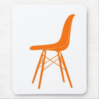 Eames moldeó la silla lateral plástica mouse pads