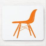 Eames moldeó la silla lateral plástica alfombrilla de ratón