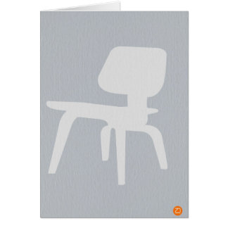Eames Plywood Chair Stationery Note Card