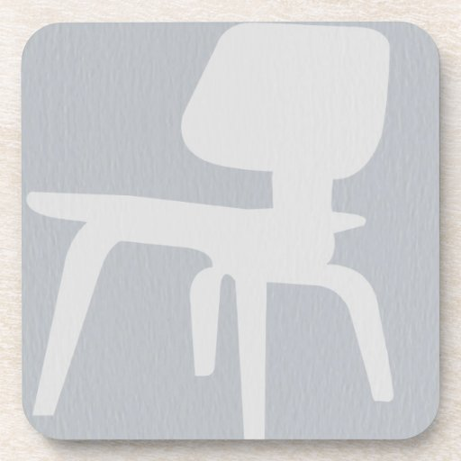 Eames Plywood Chair Drink Coaster