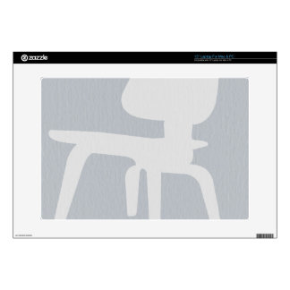 "Eames Plywood Chair Decals For 15"" Laptops"