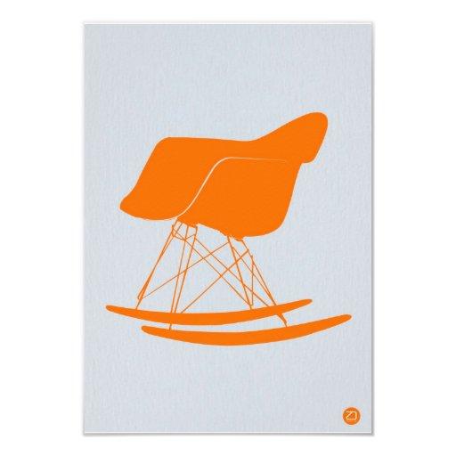 Eames Rocking chair 3.5x5 Paper Invitation Card