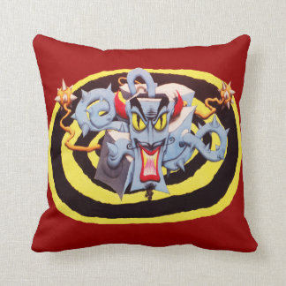Ear Assaulting Wicked Mad Devil Sound System Pillow