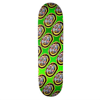 Ear Assaulting Wicked Mad Devil Sound System Skateboard