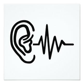 Ear frequency card