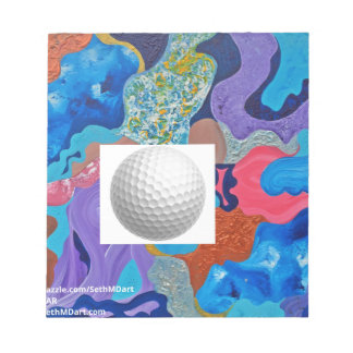 Ear Golf Ball Notepad