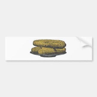 ear of corn corn on the cob bumper sticker