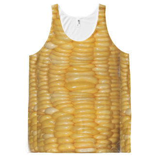 Ear of Corn Halloween Costume All-Over-Print Tank Top
