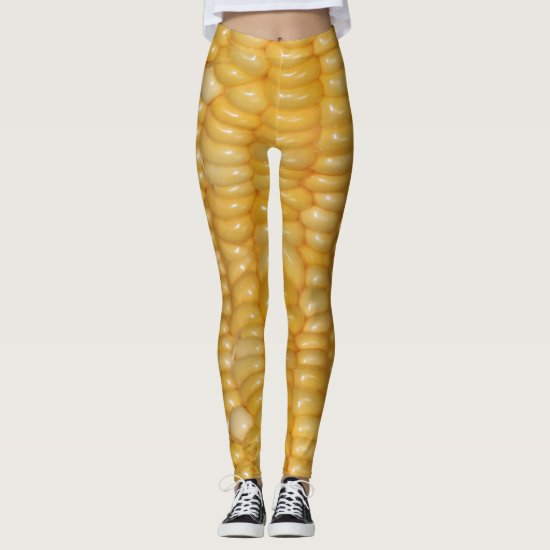 Ear of Corn Halloween Costume Bottoms Leggings
