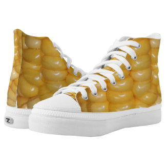 Ear of Corn Halloween Costume High-Top Sneakers