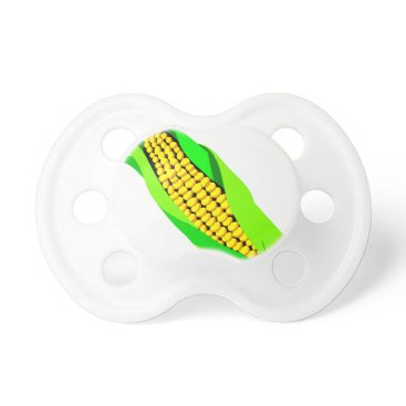 Coffee Themed Ear Of Corn Pacifier