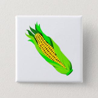 Ear of corn pinback button