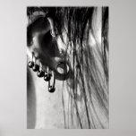 ear, piercings, body art, 35 mm