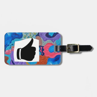 Ear Thumbs Up Luggage Tag
