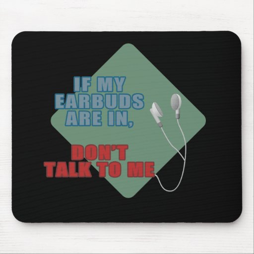 Earbuds Mouse Pad