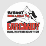 EARCANDY ROUND STICKERS SHEET OF 20