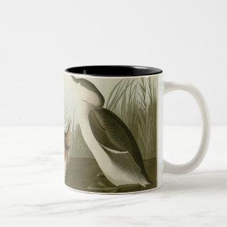 Eared Grebe Two-Tone Coffee Mug