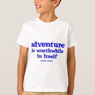 Earhart Adventure, blue T-Shirt