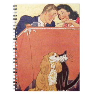 Earl and Dorothy and the dog and the cat Notebook