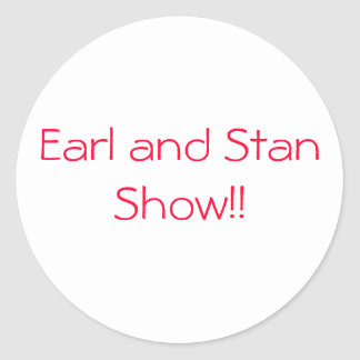 earl and stan sticker