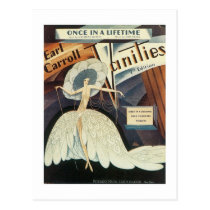 Earl Carroll Vanities Songbook Cover Postcard