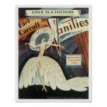 Earl Carroll Vanities Songbook Cover Poster