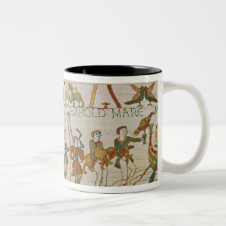 Earl Harold  dines and then sets sail Two-Tone Coffee Mug