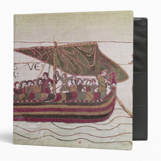 Earl Harold with his sails full of wind 3 Ring Binder